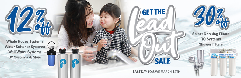 Get the Lead Out Sale - 12% to 30% off - ends March 19