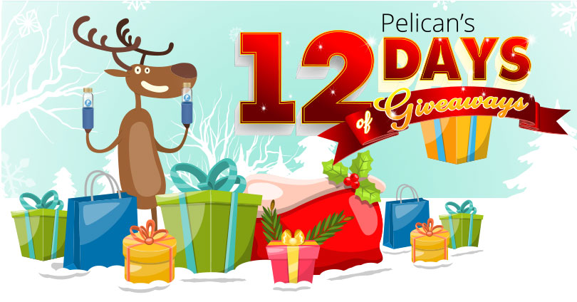 Pelican's 12 Days of Giveaways