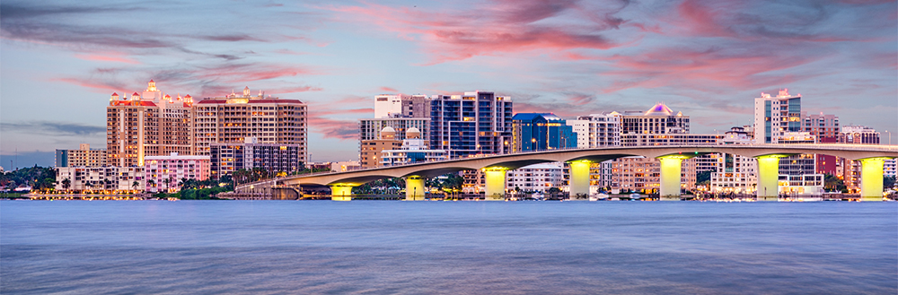 The city of Sarasota