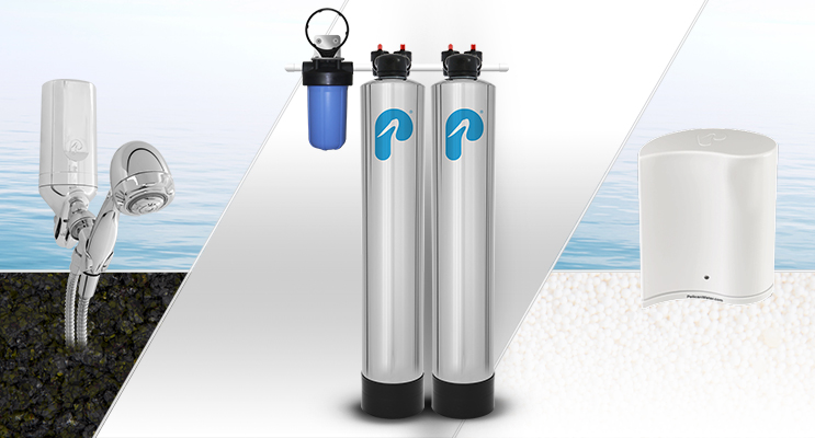 Range of Pelican Water filtration products