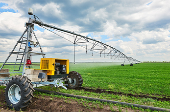 Commercial farming sprayer