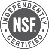 NSF independently certified