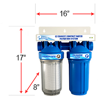 Compact Apartment Water Filter System Pelican Water