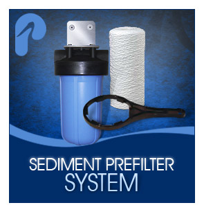 sediment pre filter water system pelican water. Black Bedroom Furniture Sets. Home Design Ideas
