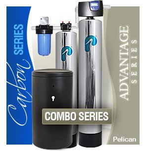 pelican combo whole house water filter salt based softener. Black Bedroom Furniture Sets. Home Design Ideas