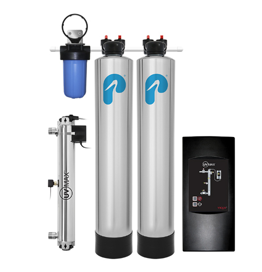 Pelican Water Softener Alternative with UV
